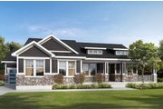 Traditional Style House Plan - 2 Beds 2.5 Baths 2301 Sq/Ft Plan #1073-2