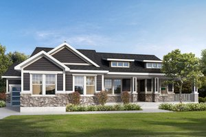 Traditional Exterior - Front Elevation Plan #1073-2
