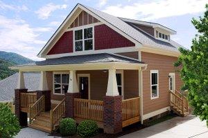 Craftsman Exterior - Front Elevation Plan #461-64