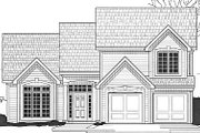 Traditional Style House Plan - 3 Beds 2 Baths 1249 Sq/Ft Plan #67-628