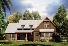 House Plan Design - Craftsman Exterior - Front Elevation Plan #923-165
