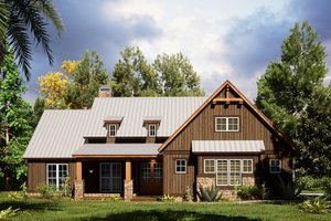 Dream House Plan - Craftsman Exterior - Front Elevation Plan #923-165