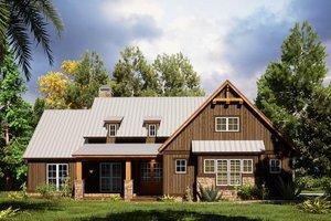 Craftsman Exterior - Front Elevation Plan #923-165