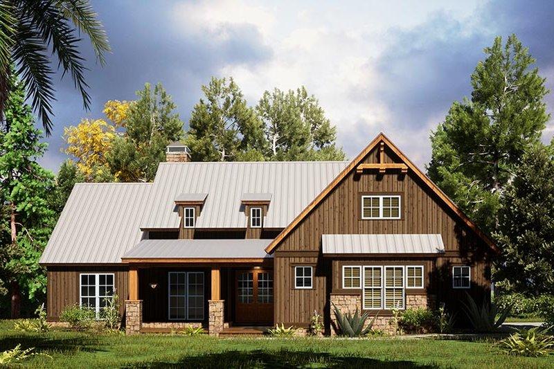 Dream House Plan - Craftsman Exterior - Front Elevation Plan #923-165