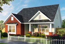 Architectural House Design - Craftsman Exterior - Front Elevation Plan #513-2169