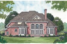 Dream House Plan - Traditional Photo Plan #453-38