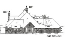 House Plan Design - European Exterior - Other Elevation Plan #310-666