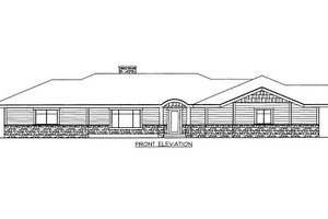 Traditional Exterior - Front Elevation Plan #117-727