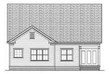 Dream House Plan - Country Exterior - Rear Elevation Plan #413-786