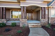 Craftsman Style House Plan - 4 Beds 3 Baths 2863 Sq/Ft Plan #929-7 Exterior - Outdoor Living