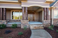 Dream House Plan - Craftsman Exterior - Outdoor Living Plan #929-7