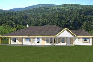 Bungalow Exterior - Front Elevation Plan #117-558