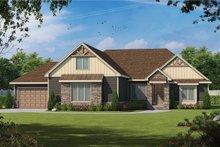 Craftsman Exterior - Front Elevation Plan #20-2369
