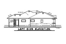 House Plan Design - European Exterior - Other Elevation Plan #20-2068