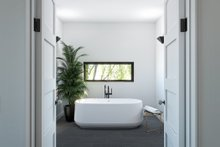 Modern Interior - Master Bathroom Plan #1076-2