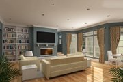 Craftsman Style House Plan - 3 Beds 2 Baths 1976 Sq/Ft Plan #45-377