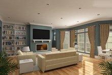 Craftsman Interior - Family Room Plan #45-377
