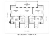 Country Style House Plan - 3 Beds 3 Baths 2662 Sq/Ft Plan #932-168 Floor Plan - Upper Floor Plan