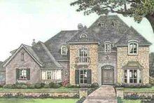 Architectural House Design - European Exterior - Front Elevation Plan #310-237