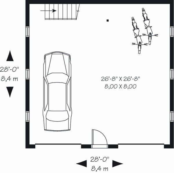 Traditional Floor Plan - Main Floor Plan Plan #23-765