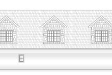Country Exterior - Rear Elevation Plan #932-248