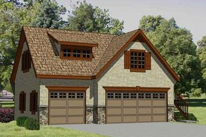 Traditional Exterior - Front Elevation Plan #116-131