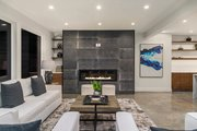 Modern Style House Plan - 4 Beds 3.5 Baths 3595 Sq/Ft Plan #1066-3 Interior - Family Room