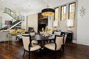 Contemporary Style House Plan - 4 Beds 4 Baths 4237 Sq/Ft Plan #935-5 Interior - Dining Room