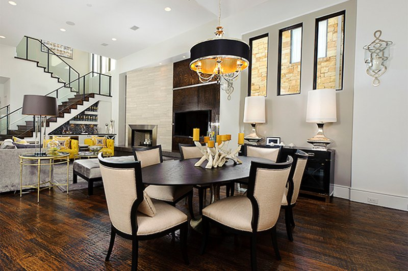 Contemporary Interior - Dining Room Plan #935-5 - Houseplans.com