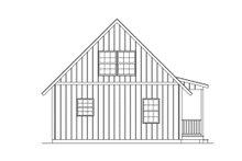 Home Plan - Cottage Exterior - Rear Elevation Plan #57-240