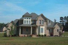 House Plan Design - European Exterior - Front Elevation Plan #20-967