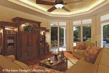 Mediterranean Interior - Family Room Plan #930-42