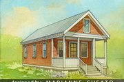 Cottage Style House Plan - 2 Beds 1 Baths 544 Sq/Ft Plan #514-5