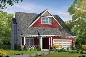 House Blueprint - Craftsman Exterior - Front Elevation Plan #20-2468