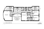 Contemporary Style House Plan - 9 Beds 6 Baths 4884 Sq/Ft Plan #535-21 Floor Plan - Main Floor Plan