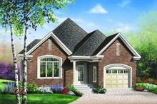 Dream House Plan - European Exterior - Front Elevation Plan #23-346