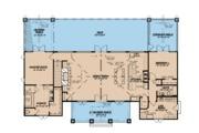 Ranch Style House Plan - 3 Beds 3.5 Baths 3415 Sq/Ft Plan #923-88 Floor Plan - Main Floor Plan