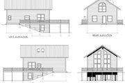Modern Style House Plan - 2 Beds 2 Baths 1768 Sq/Ft Plan #100-457