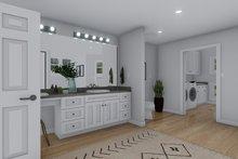 Craftsman Interior - Master Bathroom Plan #1060-53