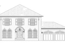 House Plan Design - Traditional Exterior - Front Elevation Plan #901-142