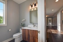 Architectural House Design - Powder Bath