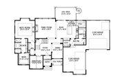European Style House Plan - 7 Beds 5 Baths 6042 Sq/Ft Plan #920-86 Floor Plan - Main Floor Plan