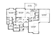European Style House Plan - 7 Beds 5 Baths 6042 Sq/Ft Plan #920-86 Floor Plan - Main Floor Plan