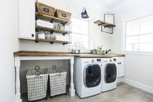 Country Interior - Laundry Plan #119-216
