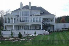Home Plan - Classical Exterior - Rear Elevation Plan #119-180