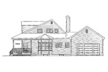 Country Exterior - Other Elevation Plan #3-183