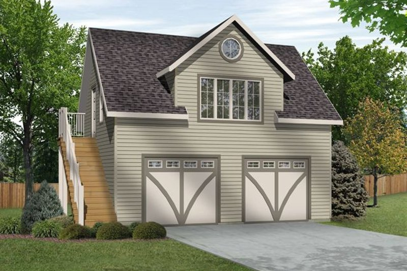 Home Plan - Traditional Exterior - Front Elevation Plan #22-564