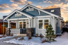 Home Plan - Craftsman Exterior - Front Elevation Plan #895-99