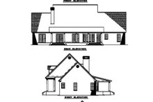House Design - Country Exterior - Rear Elevation Plan #17-2093