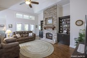 Craftsman Style House Plan - 3 Beds 2 Baths 2108 Sq/Ft Plan #929-916 Interior - Family Room